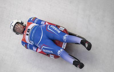 Российская саночница Иванова стала второй на этапе Кубка мира в Латвии