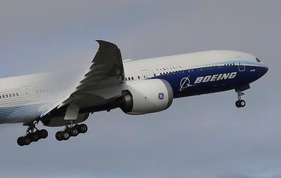 Лайнер Boeing 777X завершил первый испытательный полет