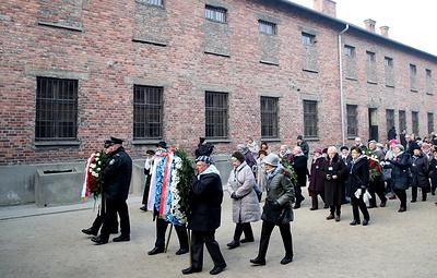 В Освенциме отметили 75-ю годовщину освобождения концлагеря