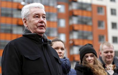 Собянин осмотрел строящийся по программе реновации дом на севере Москвы