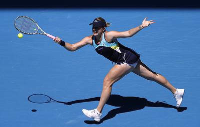 Теннисистка Павлюченкова пропустит матч Кубка Федерации и турнир в Петербурге