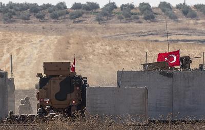 СМИ: турецкая колонна бронетехники вошла в Идлиб