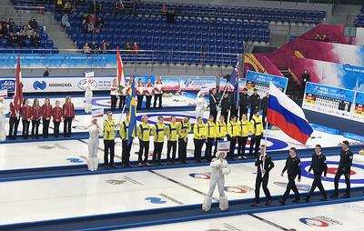 Рамсфьелл: юниорский ЧМ является шагом в развитии керлинга в России