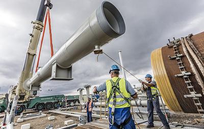 """В """"Газпроме"""" ответили на сомнения США в способности России достроить """"Северный поток - 2"""""""