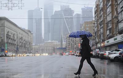 Синоптики обещают регионам Центральной России сильный ветер, дождь и гололедицу