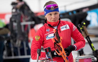 Биатлонистке Резцовой отказали в ЧМ, несмотря на второе место в контрольной тренировке