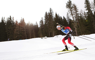 Сборная Норвегии выиграла сингл-микст на чемпионате мира по биатлону, россияне - седьмые