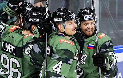 СКА в четвертый раз подряд стал победителем дивизиона Боброва в КХЛ