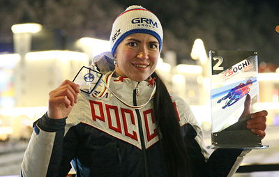 Иванова стала второй на этапе Кубка мира по санному спорту в Германии