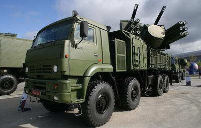 """Комплексы """"Панцирь-С1"""" прибыли из России в Сербию"""