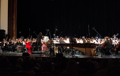 Всероссийский юношеский оркестр Башмета представил мировые премьеры на фестивале в Сочи