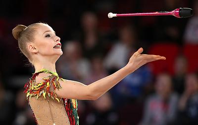 Гимнастка Сергаева призналась, что переход на взрослый уровень дается ей с трудом