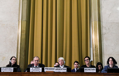 Лавров призвал СПЧ ООН дать оценку нарушениям прав национальных меньшинств на Украине