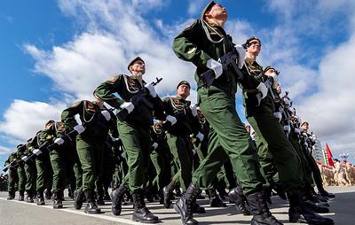 В юбилейных парадах Победы в ВВО примут участие более 13,9 тыс. военных