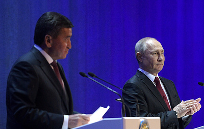 Путин: Россия нацелена на всемерное укрепление разноплановых связей с Киргизией