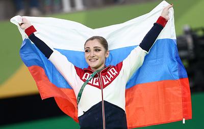 Олимпийская чемпионка гимнастка Мустафина еще не возобновила тренировки
