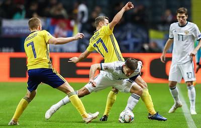Организаторы матча Швеция - Россия не предпринимали дополнительных мер из-за коронавируса