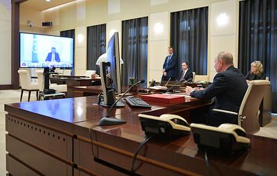 Путин пообщался по телефону с Макроном и присоединился к саммиту лидеров G20