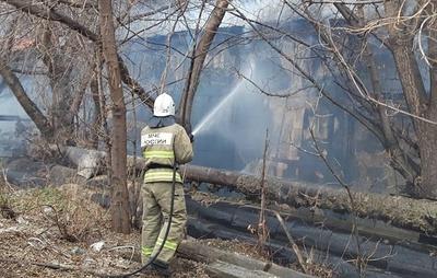 В ангаре в Каменске-Уральском ликвидировали открытое горение