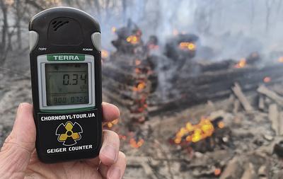 Угрозы распространения продуктов горения из зоны отчуждения Чернобыльской АЭС нет