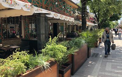 В Крыму открылись летние площади в кафе и ресторанах