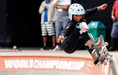 Одиннадцатилетняя скейтбордистка Браун получила травму черепа