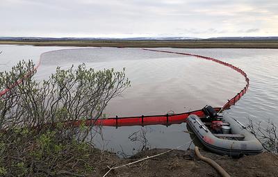 МЧС нашло решение по способам ликвидации утечки нефтепродуктов на ТЭЦ-3 в Норильске