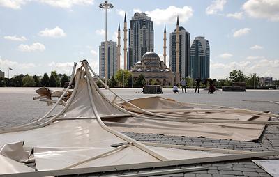 Из-за непогоды в Чечне пострадали три человека