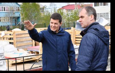 Губернатор Ямала дал старт рабочим поездкам по муниципалитетам