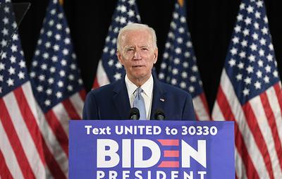 Байден получил достаточное число голосов делегатов для выдвижения кандидатом в президенты