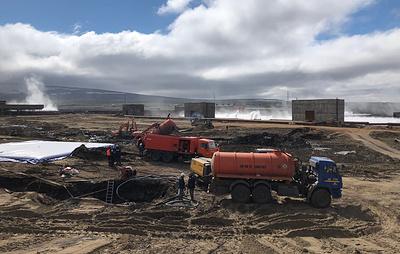 В Норильске откачали более 324 т разлившегося топлива