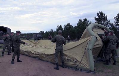 Военный госпиталь по поручению Путина развернули в Чите