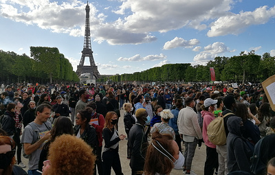 День протеста против расизма собрал во Франции более 23 тыс. участников