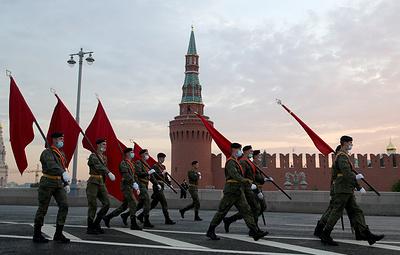 Регламент парада Победы в Москве