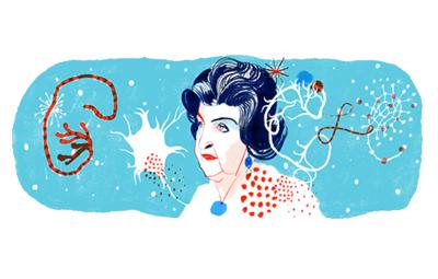 Google выпустил дудл ко дню рождения Натальи Бехтеревой
