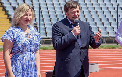 Заместитель министра Байсултанов наградил участников комплекса ГТО в Крыму