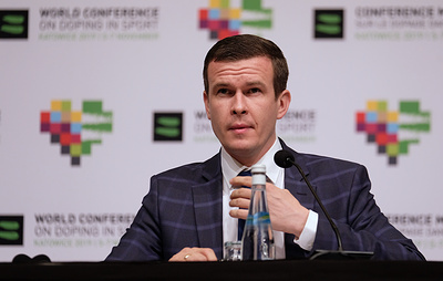 Глава WADA назвал правильным решение восстановить РУСАДА в правах