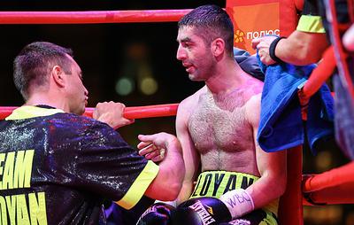 Российский боксер Алоян проведет претендентский бой 15 октября в Кемерове