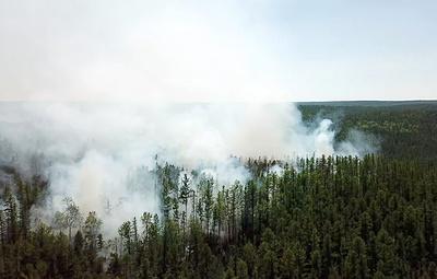 Синоптики прогнозируют сильные дожди на севере Красноярского края, где горят леса