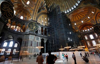 Власти Турции отменяют взимание платы за посещение Айя-Софии после смены ее статуса