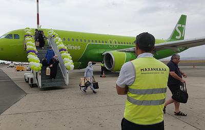 Авиакомпания S7 запустила прямой рейс между Махачкалой и Москвой