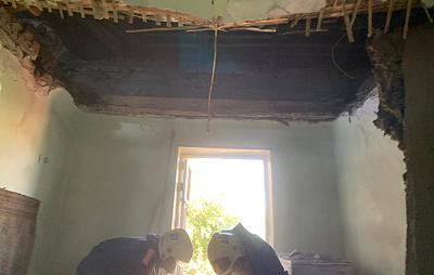 В Новосибирске погиб один человек в результате обрушения перекрытий в жилом доме