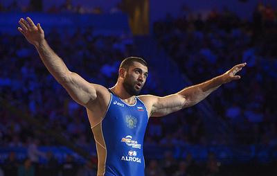Российский борец Махов назвал заслугой федерации получение золотой медали Игр-2012