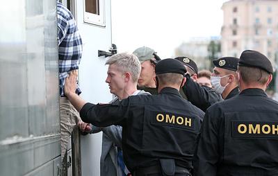 В Белоруссии за нарушение общественного порядка задержано более 250 человек