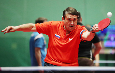 Левитин стал единственным кандидатом на пост главы Европейского союза настольного тенниса