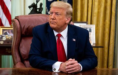 """Трамп считает, что его переизбрание - """"последнее, чего хочет Россия"""""""