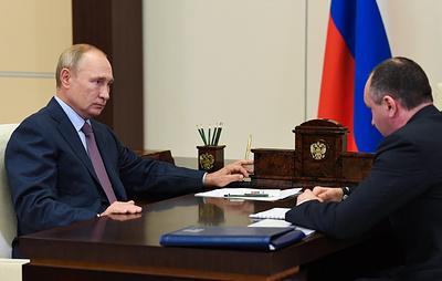 """Путин назвал очень хорошими показатели деятельности """"Интер РАО"""""""