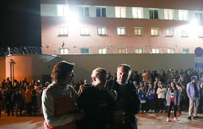 В Минске начали выпускать из изолятора задержанных во время акций протеста