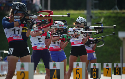 Биатлонистка Сливко победила в индивидуальной гонке на летнем чемпионате России