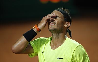 Надаль проиграл Шварцману в четвертьфинале теннисного турнира серии Masters в Риме